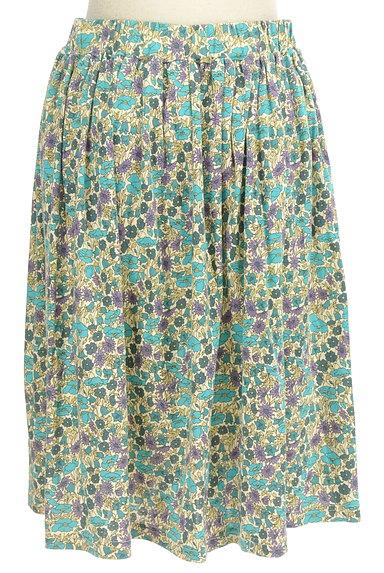 NIMES(ニーム)の古着「レトロ小花柄ギャザースカート(スカート)」大画像2へ