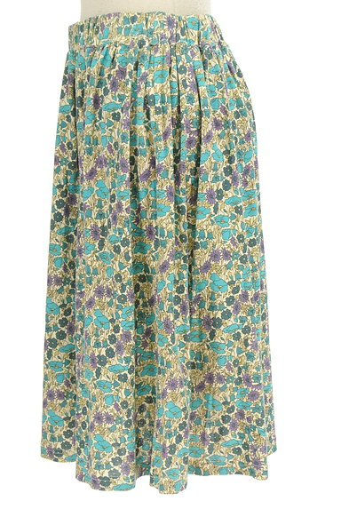 NIMES(ニーム)の古着「レトロ小花柄ギャザースカート(スカート)」大画像3へ