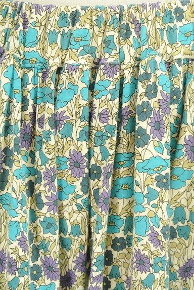 NIMES(ニーム)の古着「レトロ小花柄ギャザースカート(スカート)」大画像4へ