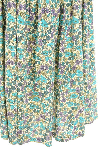 NIMES(ニーム)の古着「レトロ小花柄ギャザースカート(スカート)」大画像5へ