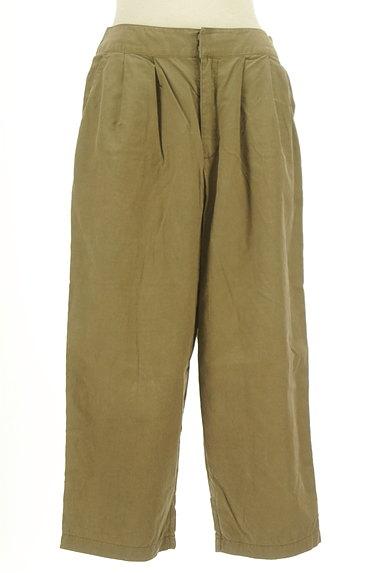 MK MICHEL KLEIN(エムケーミッシェルクラン)の古着「ワイドクロップドパンツ(パンツ)」大画像1へ