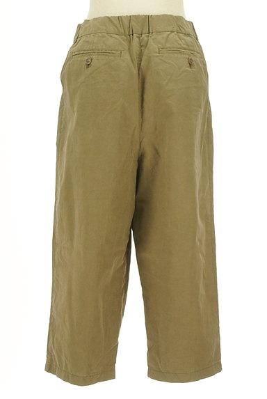 MK MICHEL KLEIN(エムケーミッシェルクラン)の古着「ワイドクロップドパンツ(パンツ)」大画像2へ