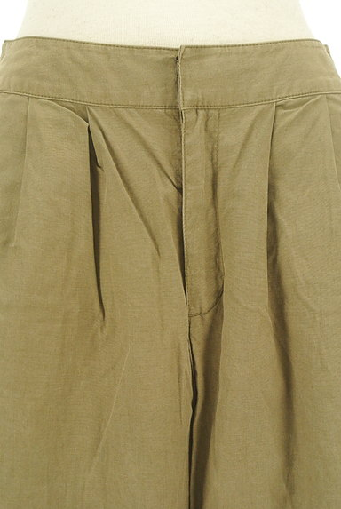 MK MICHEL KLEIN(エムケーミッシェルクラン)の古着「ワイドクロップドパンツ(パンツ)」大画像4へ
