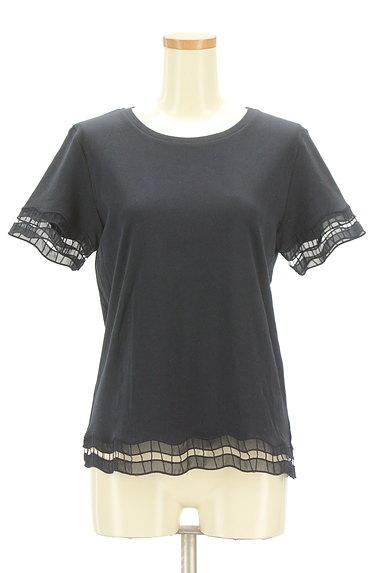 BEAUTY&YOUTH(ビューティ&ユース)の古着「オーガンジー刺繍カットソー(カットソー・プルオーバー)」大画像1へ