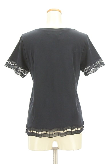 BEAUTY&YOUTH(ビューティ&ユース)の古着「オーガンジー刺繍カットソー(カットソー・プルオーバー)」大画像2へ