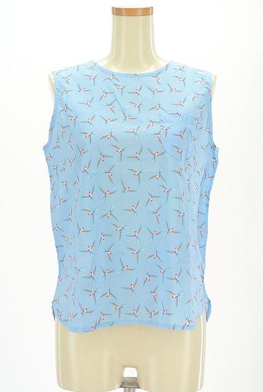 BEAMS Women's(ビームス ウーマン)の古着「小鳥柄サイドスリットカットソー(カットソー・プルオーバー)」大画像1へ