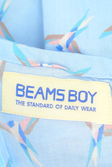 BEAMS Women's(ビームス ウーマン)の古着「小鳥柄サイドスリットカットソー(カットソー・プルオーバー)」大画像6へ
