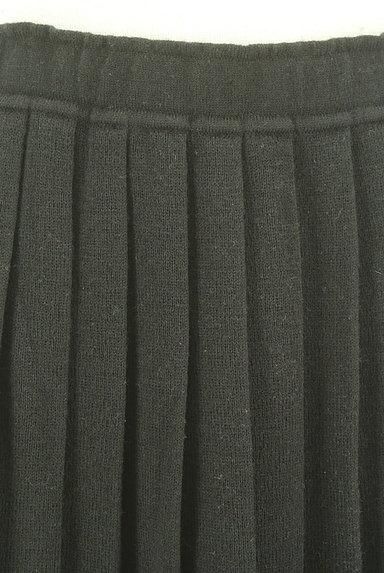coen(コーエン)の古着「ミモレ丈プリーツニットスカート(ロングスカート・マキシスカート)」大画像4へ