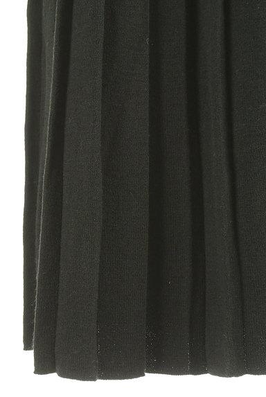 coen(コーエン)の古着「ミモレ丈プリーツニットスカート(ロングスカート・マキシスカート)」大画像5へ