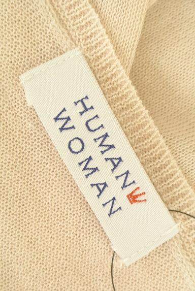 HUMAN WOMAN(ヒューマンウーマン)の古着「ナチュラルリネン7分袖カーディガン(カーディガン・ボレロ)」大画像6へ