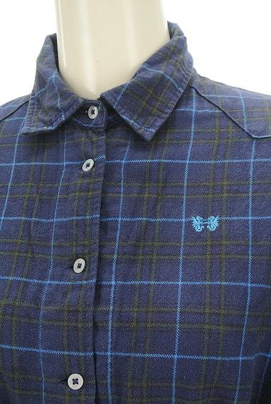 McGREGOR(マックレガー)の古着「ウエストドロストフランネルシャツ(カジュアルシャツ)」大画像4へ