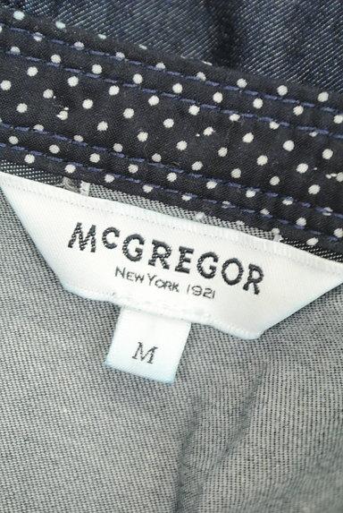 McGREGOR(マックレガー)の古着「花刺繍レースダンガリーカットソー(カットソー・プルオーバー)」大画像6へ