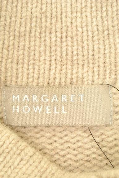 MARGARET HOWELL(マーガレットハウエル)の古着「ハイネック起毛ニットカーディガン(カーディガン・ボレロ)」大画像6へ