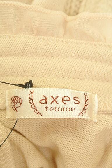 axes femme(アクシーズファム)の古着「レース切替ケーブルハイネックニット(ニット)」大画像6へ