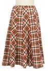 Jocomomola(ホコモモラ)の古着「スカート」後ろ