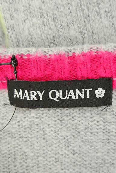 MARY QUANT(マリークワント)の古着「バイカラーボタンカーディガン(カーディガン・ボレロ)」大画像6へ