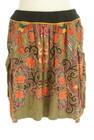 mash mania(マッシュマニア)の古着「ミニスカート」前