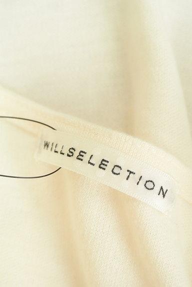 WILLSELECTION(ウィルセレクション)の古着「シアー刺繍シフォンカットソー(カットソー・プルオーバー)」大画像6へ