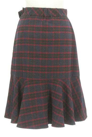 Feroux(フェルゥ)の古着「サイドリボンフリルペプラムスカート(スカート)」大画像2へ