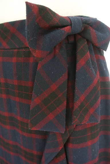 Feroux(フェルゥ)の古着「サイドリボンフリルペプラムスカート(スカート)」大画像4へ