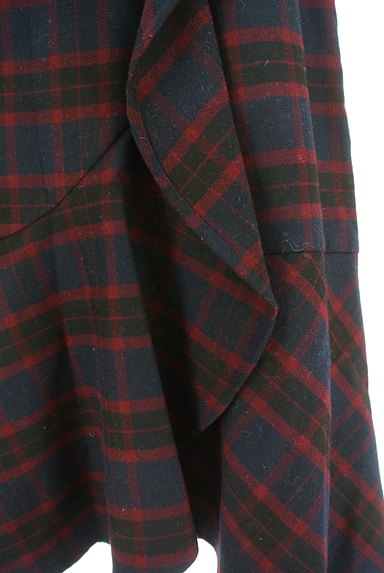 Feroux(フェルゥ)の古着「サイドリボンフリルペプラムスカート(スカート)」大画像5へ