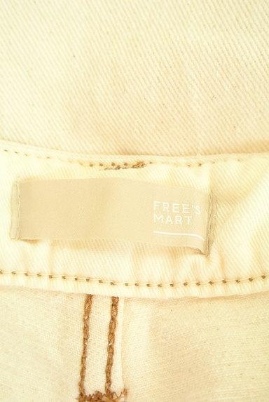 FREE'S MART(フリーズマート)の古着「ワイドサロペットホワイトデニムパンツ(オーバーオール・サロペット)」大画像6へ