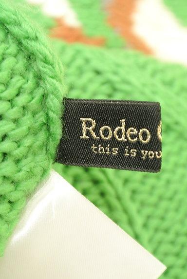 RODEO CROWNS(ロデオクラウン)の古着「ダイヤ柄ロングニット(セーター)」大画像6へ