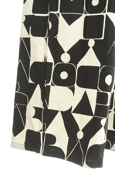 Jocomomola(ホコモモラ)の古着「総柄ワイドサロペット(オーバーオール・サロペット)」大画像5へ