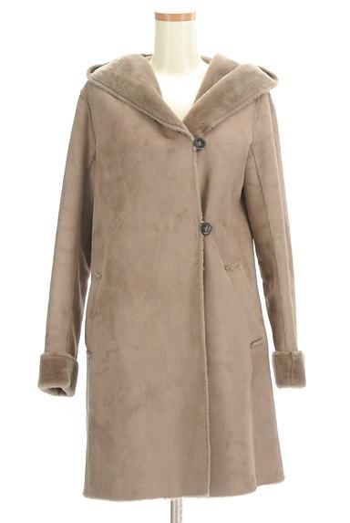KATHARINE ROSS(キャサリンロス)の古着「フード付きムートンコート(コート)」大画像1へ