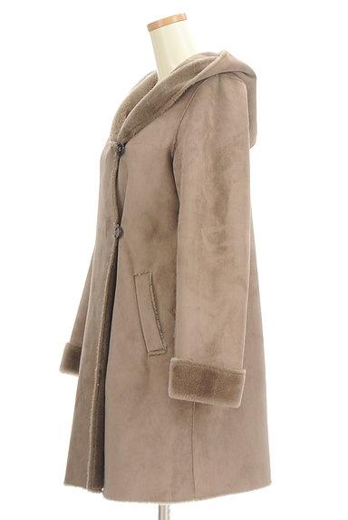 KATHARINE ROSS(キャサリンロス)の古着「フード付きムートンコート(コート)」大画像3へ