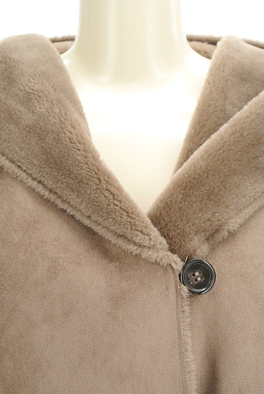 KATHARINE ROSS(キャサリンロス)の古着「フード付きムートンコート(コート)」大画像4へ