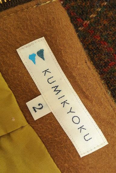 KUMIKYOKU(組曲)の古着「切替チェック柄ウールミニスカート(ミニスカート)」大画像6へ