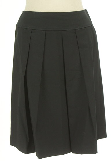 ef-de(エフデ)の古着「シンプルタックフレアスカート(スカート)」大画像1へ