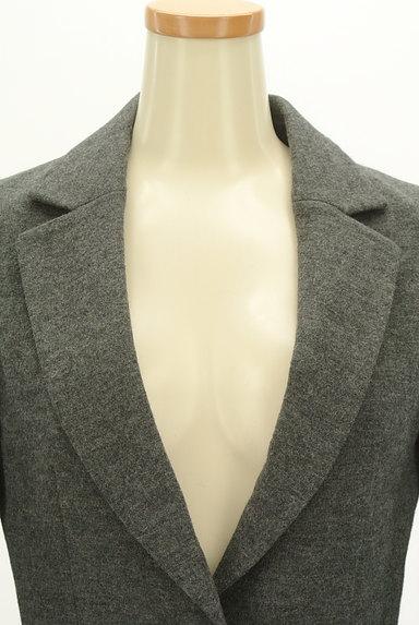 ef-de(エフデ)の古着「タックペプラムウールジャケット(ジャケット)」大画像4へ
