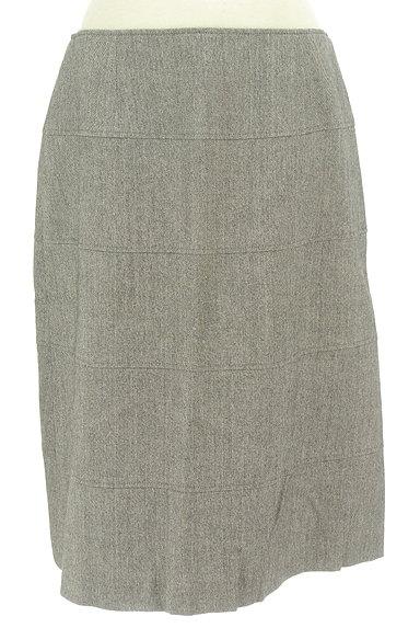 NEW YORKER(ニューヨーカー)の古着「セミタイトシンプルウールスカート(スカート)」大画像1へ