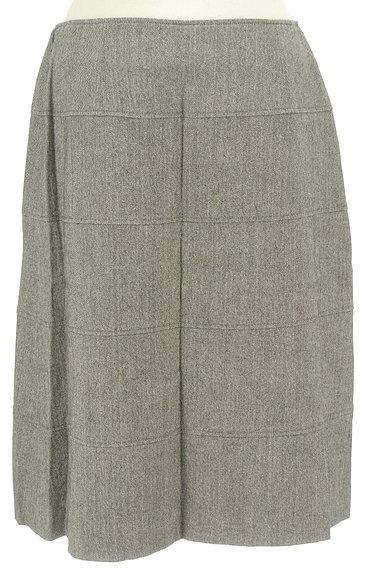NEW YORKER(ニューヨーカー)の古着「セミタイトシンプルウールスカート(スカート)」大画像2へ