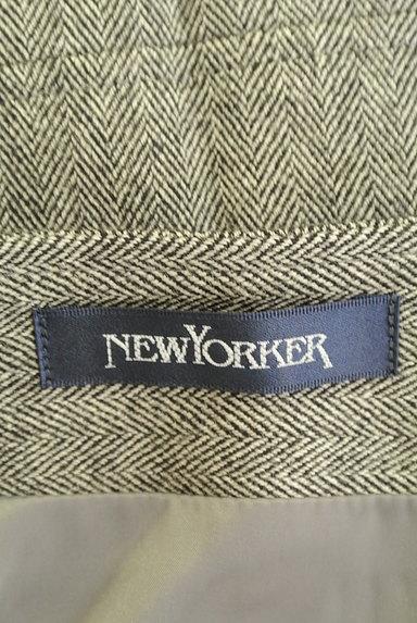 NEW YORKER(ニューヨーカー)の古着「セミタイトシンプルウールスカート(スカート)」大画像6へ