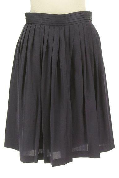 ROPE(ロペ)の古着「ギャザーフレア膝丈スカート(スカート)」大画像1へ