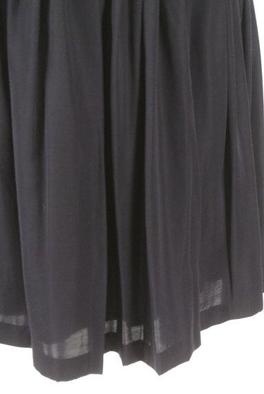 ROPE(ロペ)の古着「ギャザーフレア膝丈スカート(スカート)」大画像5へ