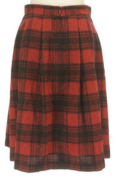 SunaUna(スーナウーナ)の古着「膝下丈チェック柄ウールスカート(スカート)」大画像2へ