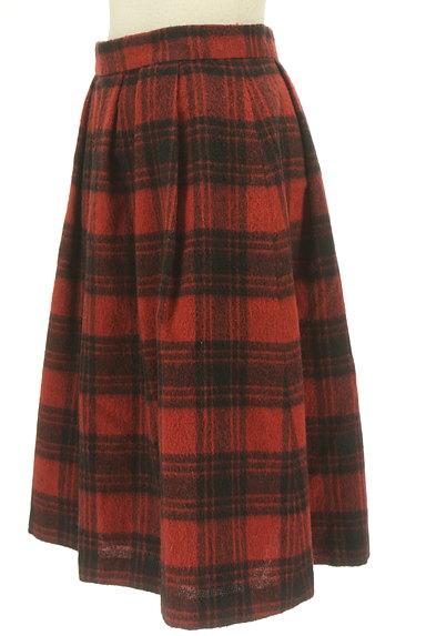 SunaUna(スーナウーナ)の古着「膝下丈チェック柄ウールスカート(スカート)」大画像3へ