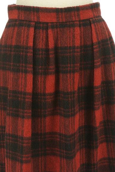 SunaUna(スーナウーナ)の古着「膝下丈チェック柄ウールスカート(スカート)」大画像4へ