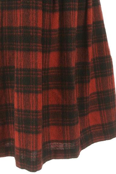 SunaUna(スーナウーナ)の古着「膝下丈チェック柄ウールスカート(スカート)」大画像5へ