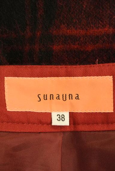 SunaUna(スーナウーナ)の古着「膝下丈チェック柄ウールスカート(スカート)」大画像6へ