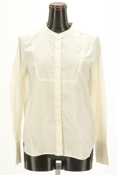 OPAQUE.CLIP(オペークドットクリップ)の古着「バンドカラーコットンシャツ(カジュアルシャツ)」大画像1へ