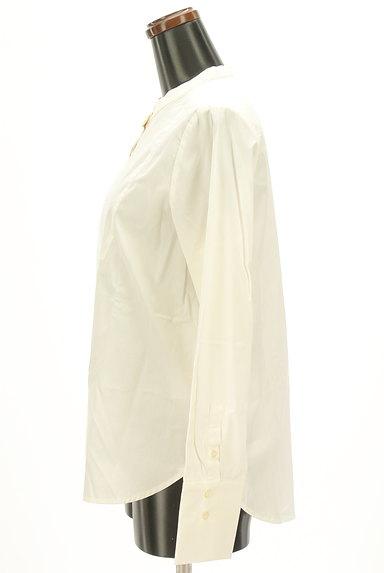 OPAQUE.CLIP(オペークドットクリップ)の古着「バンドカラーコットンシャツ(カジュアルシャツ)」大画像3へ
