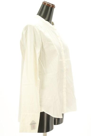 OPAQUE.CLIP(オペークドットクリップ)の古着「バンドカラーコットンシャツ(カジュアルシャツ)」大画像4へ