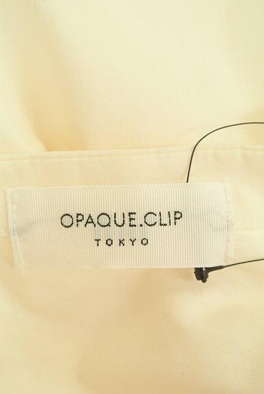 OPAQUE.CLIP(オペークドットクリップ)の古着「バンドカラーコットンシャツ(カジュアルシャツ)」大画像6へ