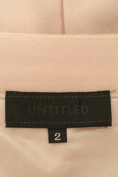 UNTITLED(アンタイトル)の古着「タックフレアミモレスカート(スカート)」大画像6へ