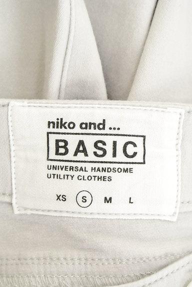 niko and...(ニコ アンド)の古着「シンプルスキニーパンツ(パンツ)」大画像6へ